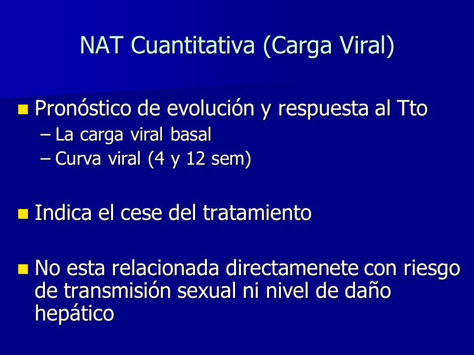 NAT Cuantitativa (Carga Viral)