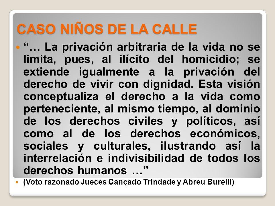 CASO NIÑOS DE LA CALLE