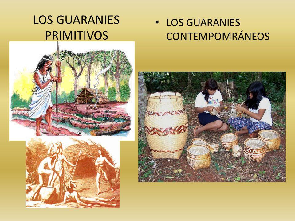LOS GUARANIES PRIMITIVOS