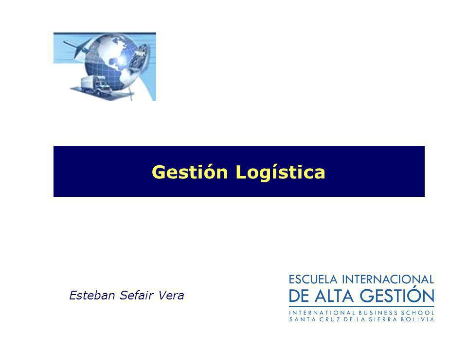 Gestión Logística Esteban Sefair Vera