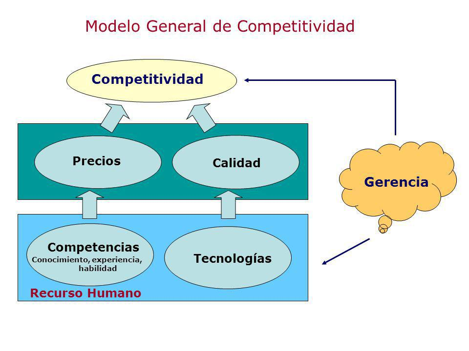 Modelo General de Competitividad