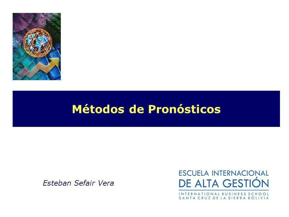 Métodos de Pronósticos