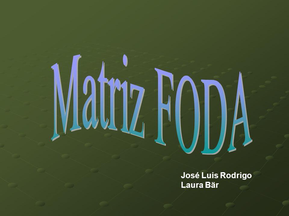 Matriz FODA José Luis Rodrigo Laura Bär