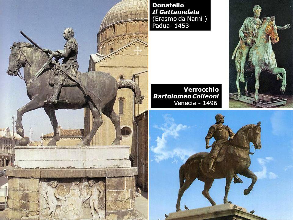 DonatelloIl Gattamelata.(Erasmo da Narni ) Padua -1453.