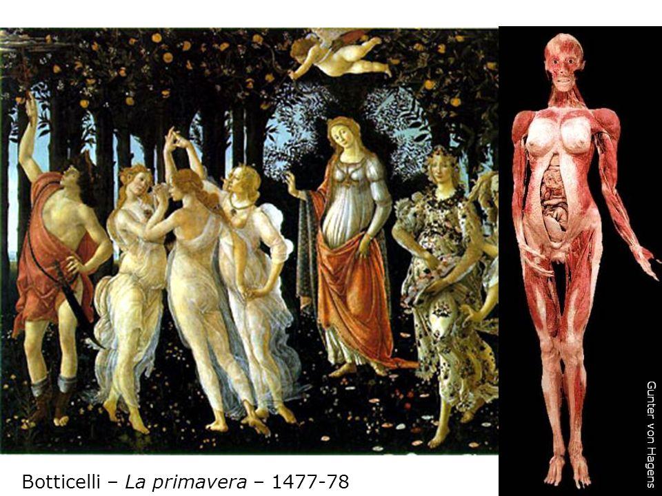 Botticelli – La primavera – 1477-78