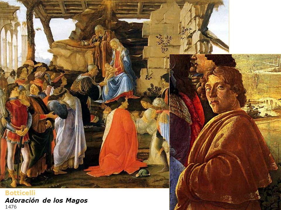 Botticelli Adoración de los Magos 1476