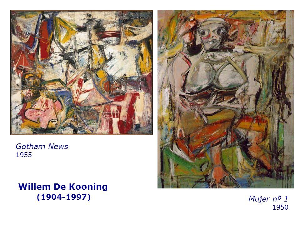 Gotham News 1955 Willem De Kooning (1904-1997) Mujer nº 1 1950