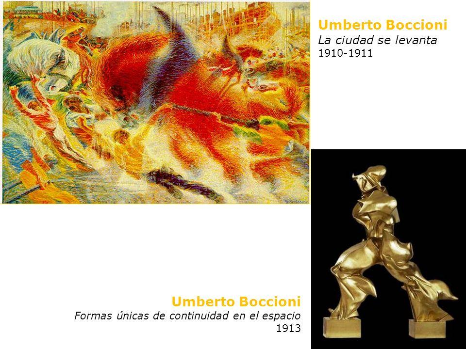 Umberto Boccioni Umberto Boccioni La ciudad se levanta 1910-1911
