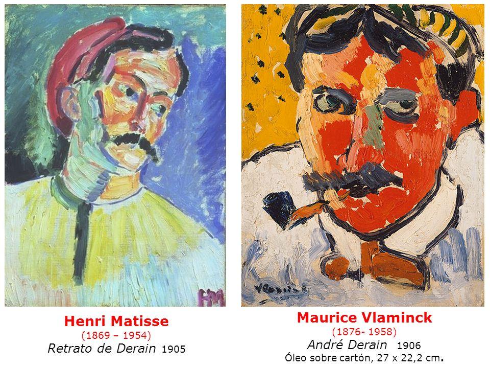 (1876- 1958) André Derain 1906 Óleo sobre cartón, 27 x 22,2 cm.