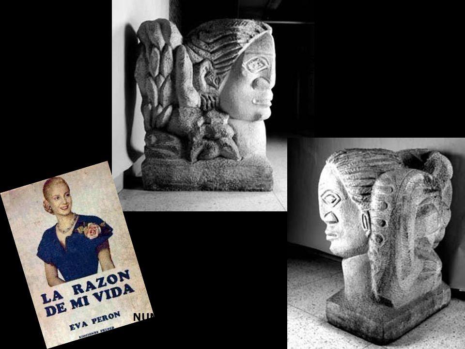 SESOSTRIS VITULLO 1952 NUMA AYRINHAC 1950 Eva Perón, arquetipo símbolo