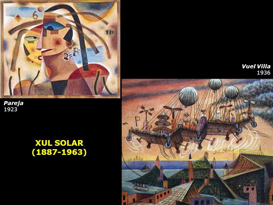 Vuel Villa 1936 Pareja 1923 XUL SOLAR (1887-1963)