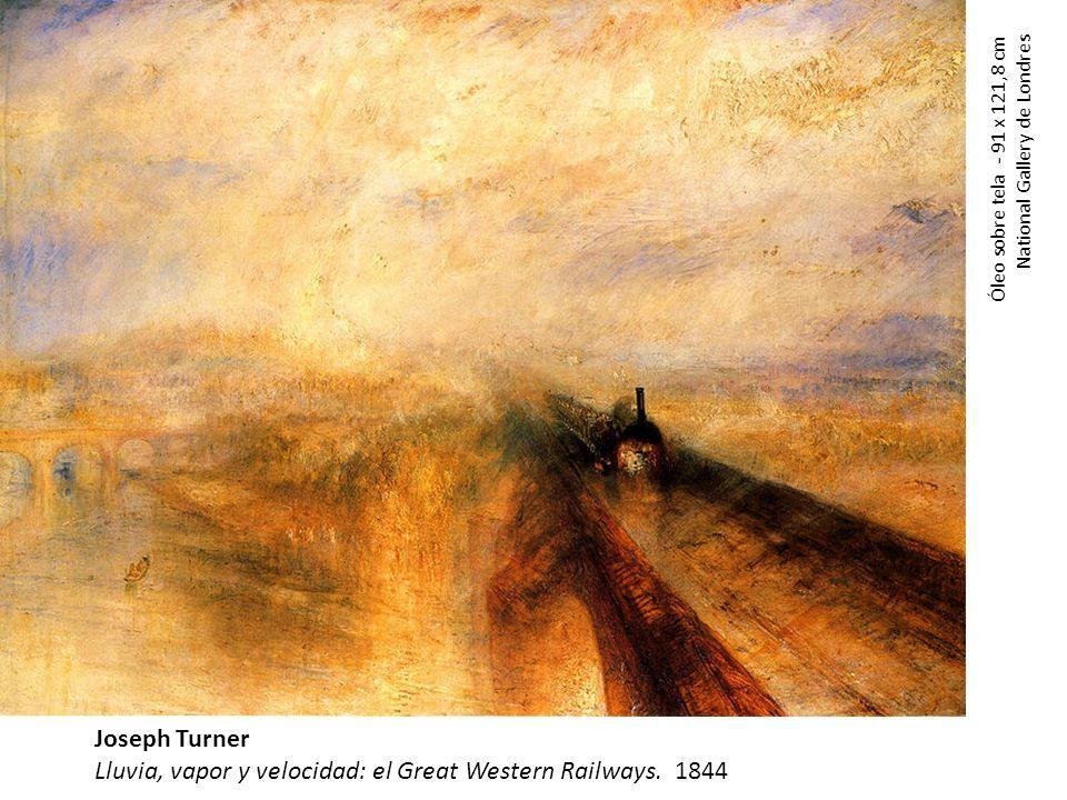 Lluvia, vapor y velocidad: el Great Western Railways. 1844