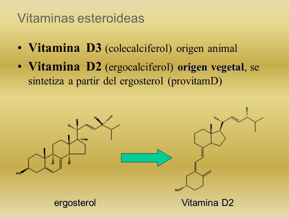 Vitaminas esteroideas