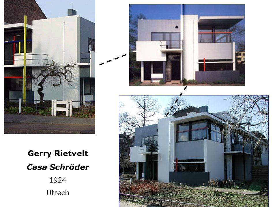 Gerry Rietvelt Casa Schröder