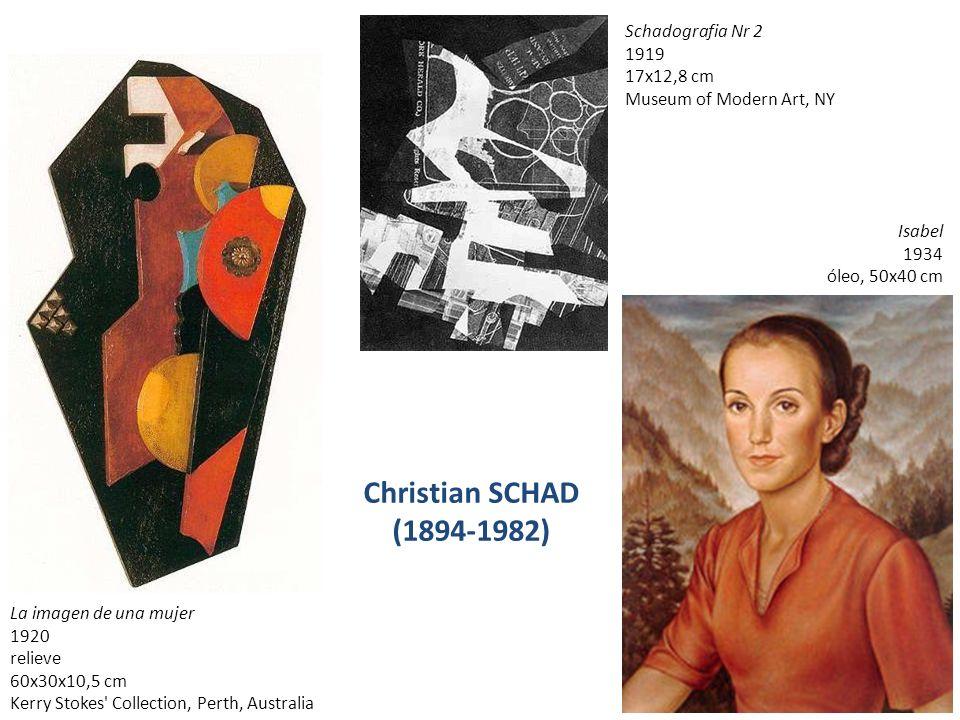 Christian SCHAD (1894-1982) Schadografia Nr 2 1919 17x12,8 cm