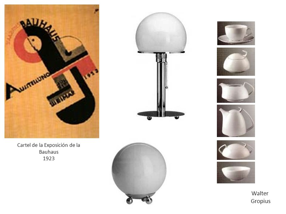 Cartel de la Exposición de la Bauhaus