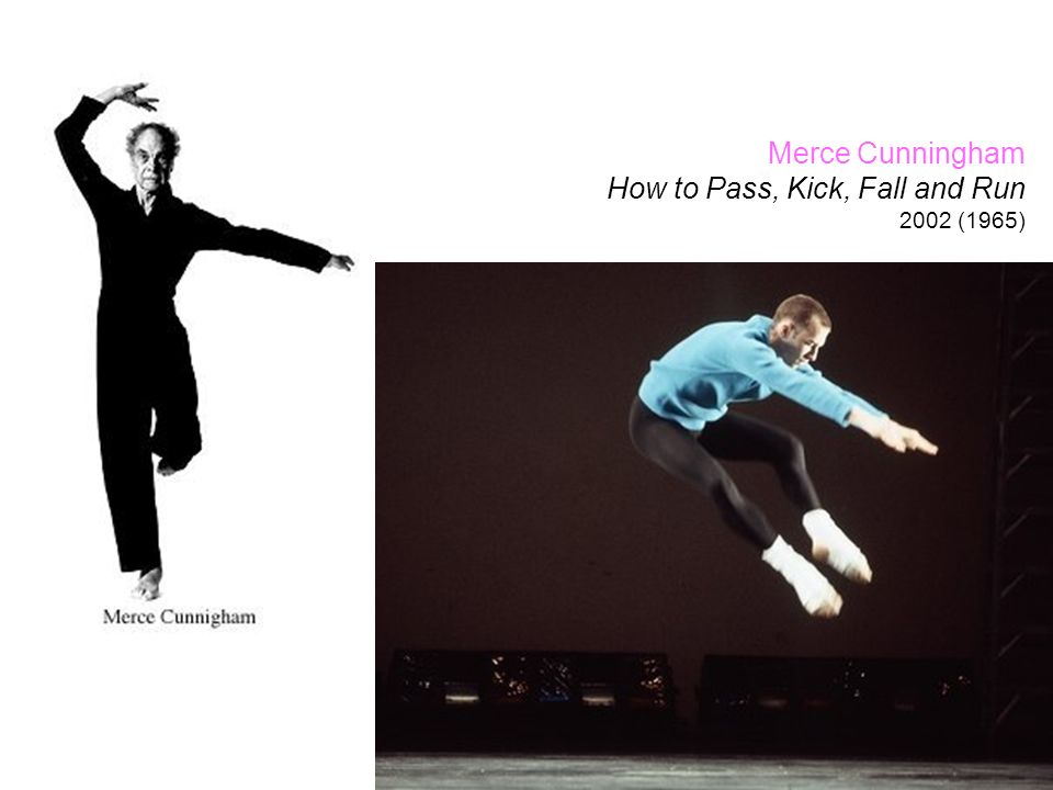 How to Pass, Kick, Fall and Run