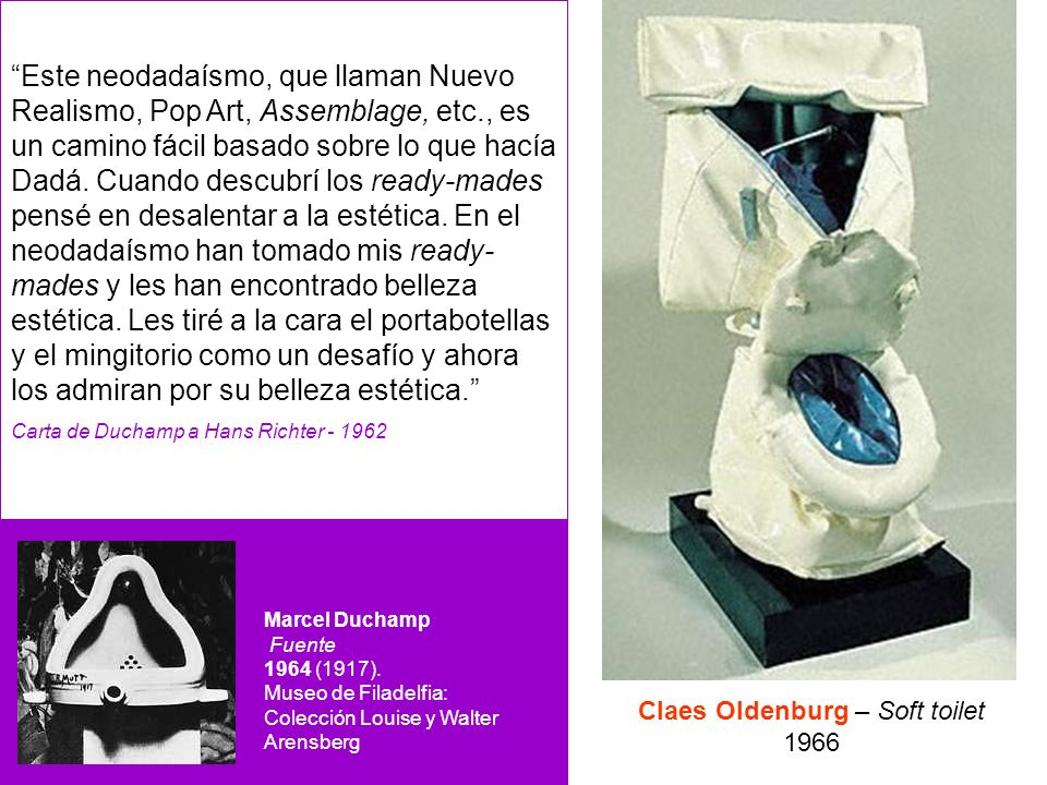 Claes Oldenburg – Soft toilet