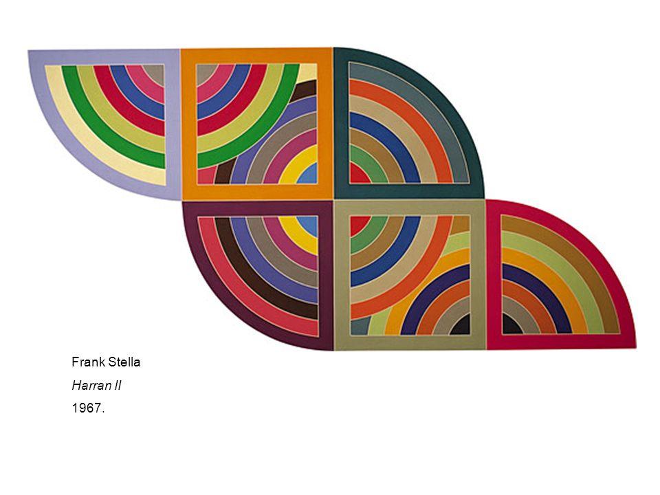 Frank Stella Harran II 1967.
