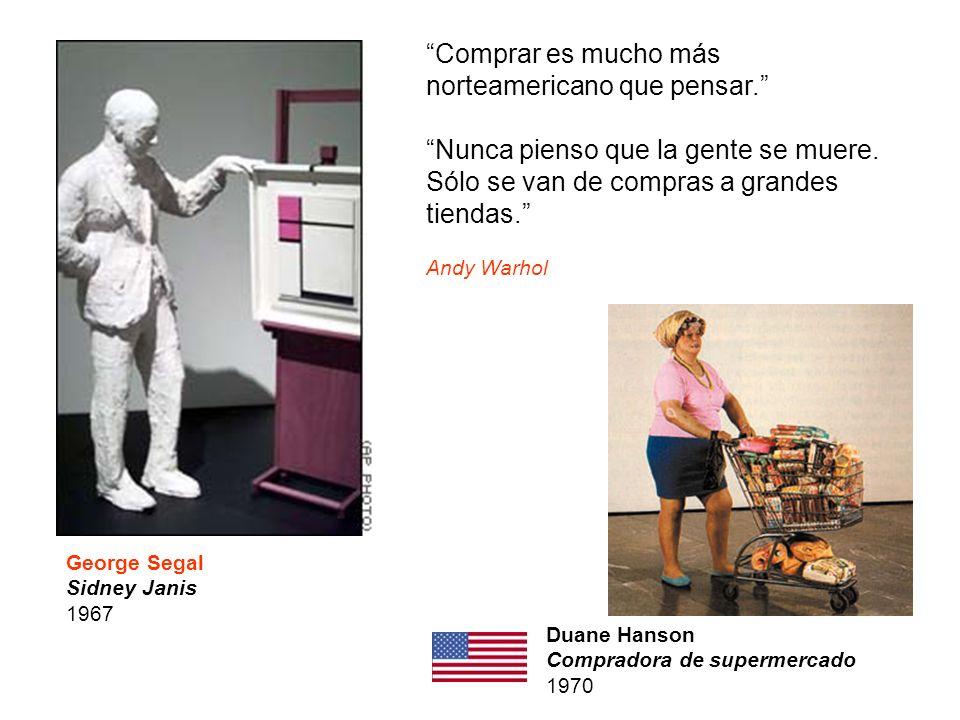 Comprar es mucho más norteamericano que pensar.