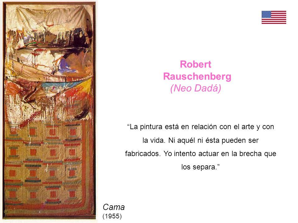 Robert Rauschenberg (Neo Dadá) Cama