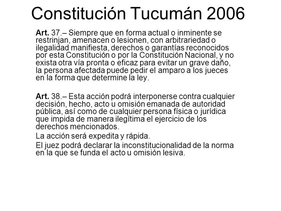Constitución Tucumán 2006