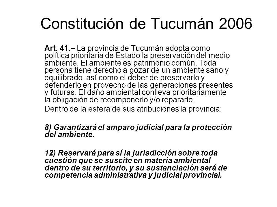 Constitución de Tucumán 2006