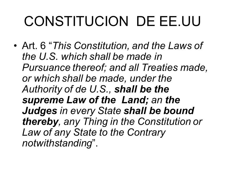 CONSTITUCION DE EE.UU