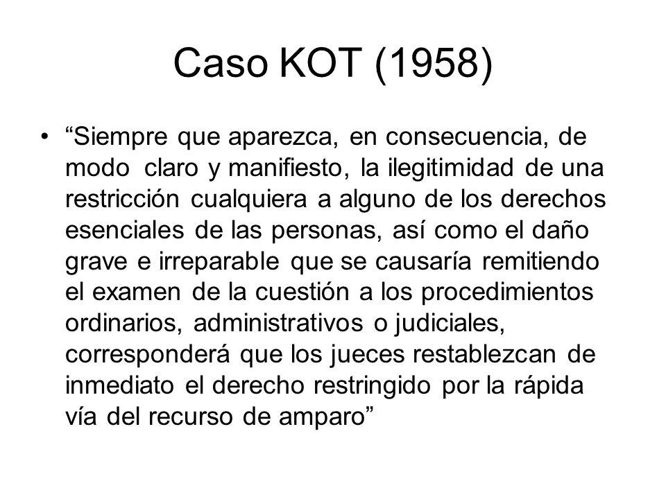 Caso KOT (1958)