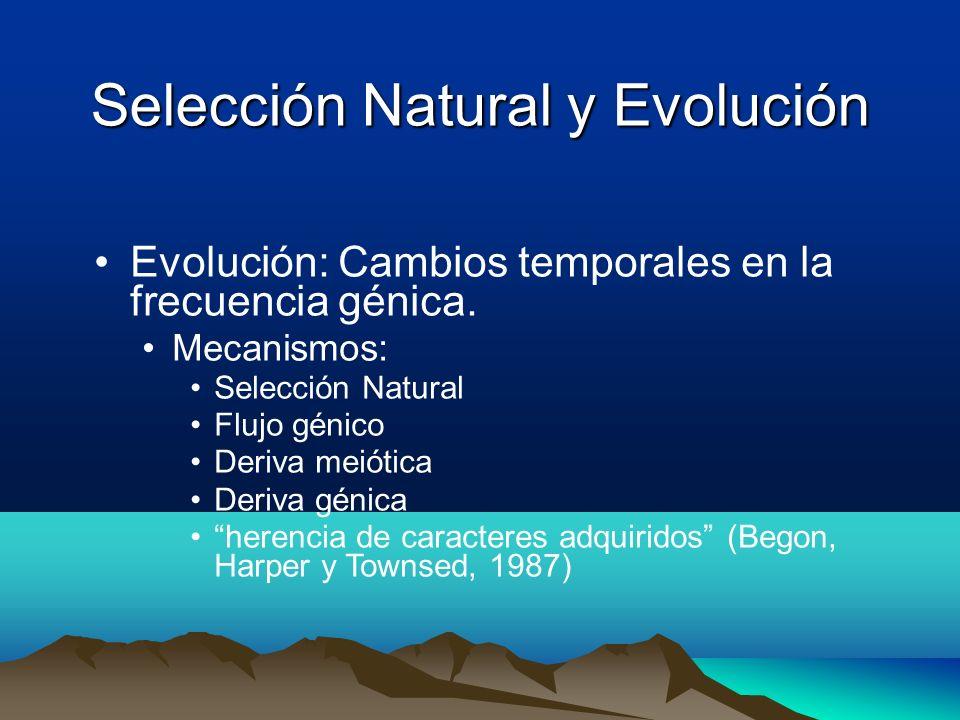 Selección Natural y Evolución
