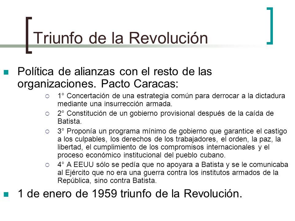 Triunfo de la Revolución