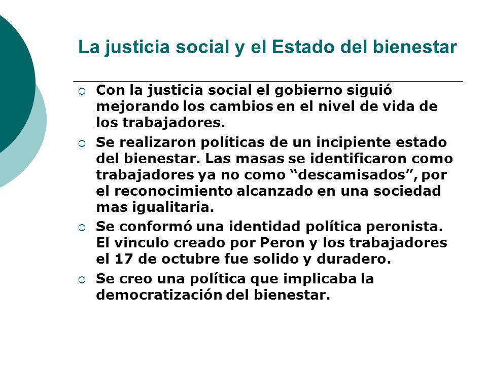 La justicia social y el Estado del bienestar