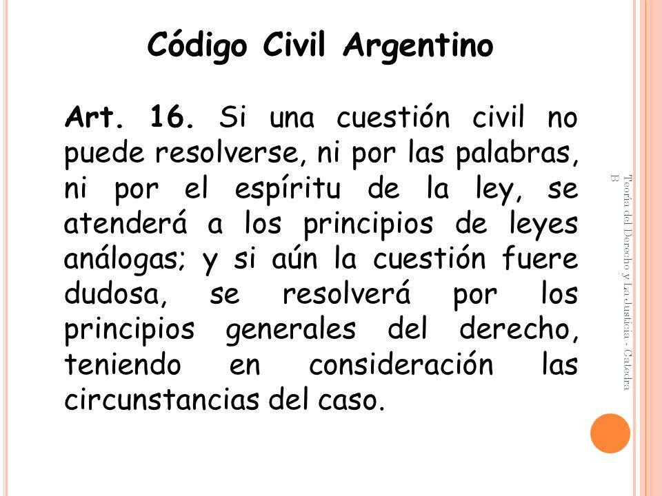 Código Civil Argentino