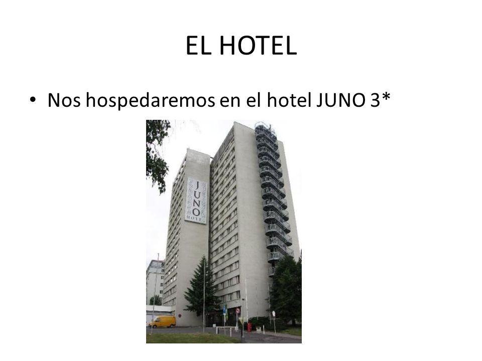 EL HOTEL Nos hospedaremos en el hotel JUNO 3*