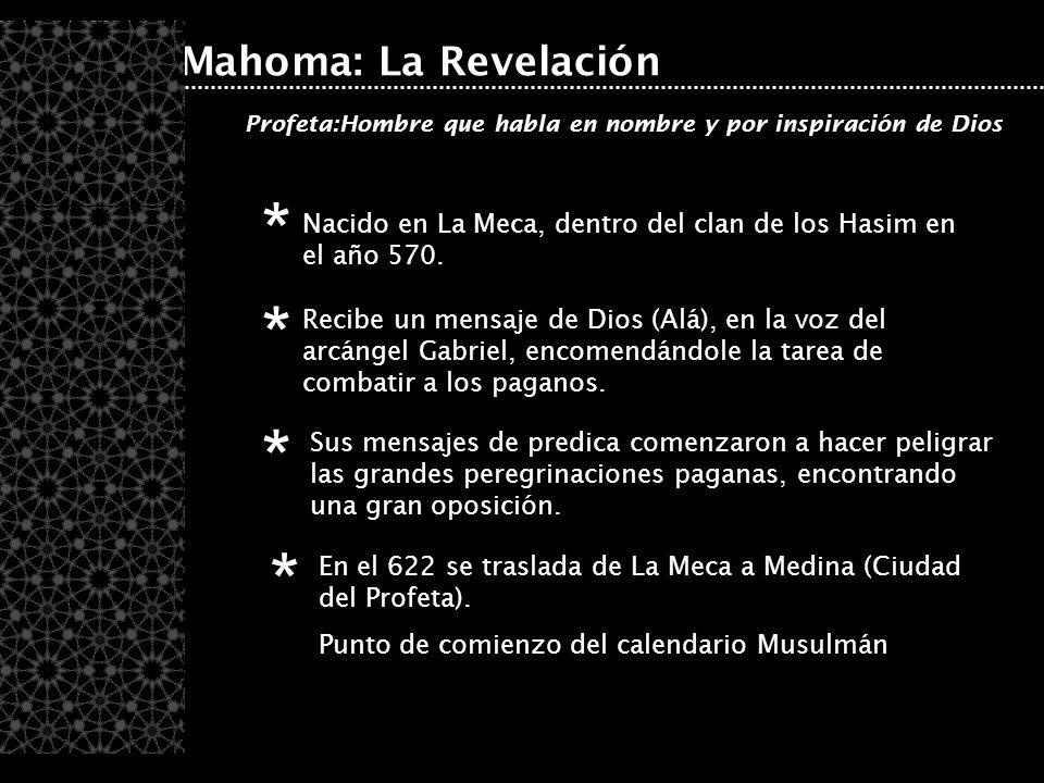 * * * * Mahoma: La Revelación