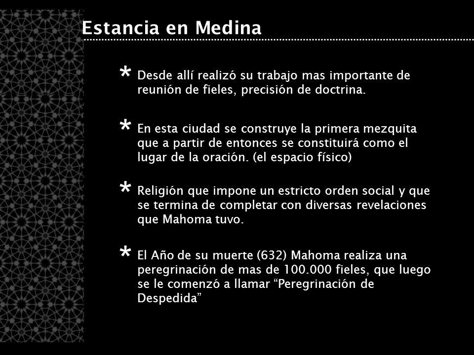 * * * * Estancia en Medina