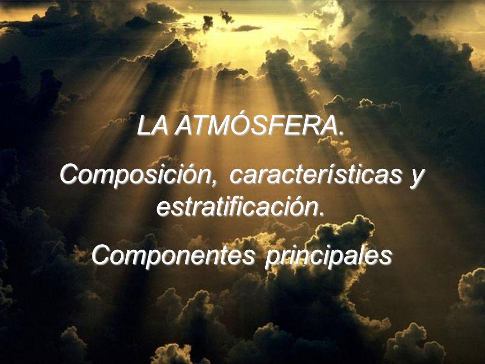 Composición, características y estratificación.