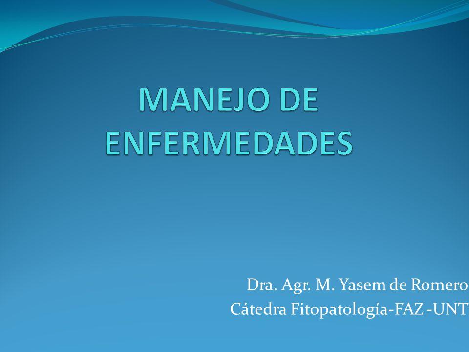 MANEJO DE ENFERMEDADES