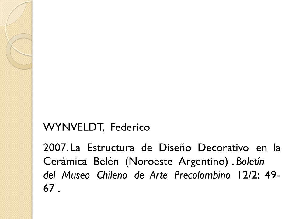 WYNVELDT, Federico