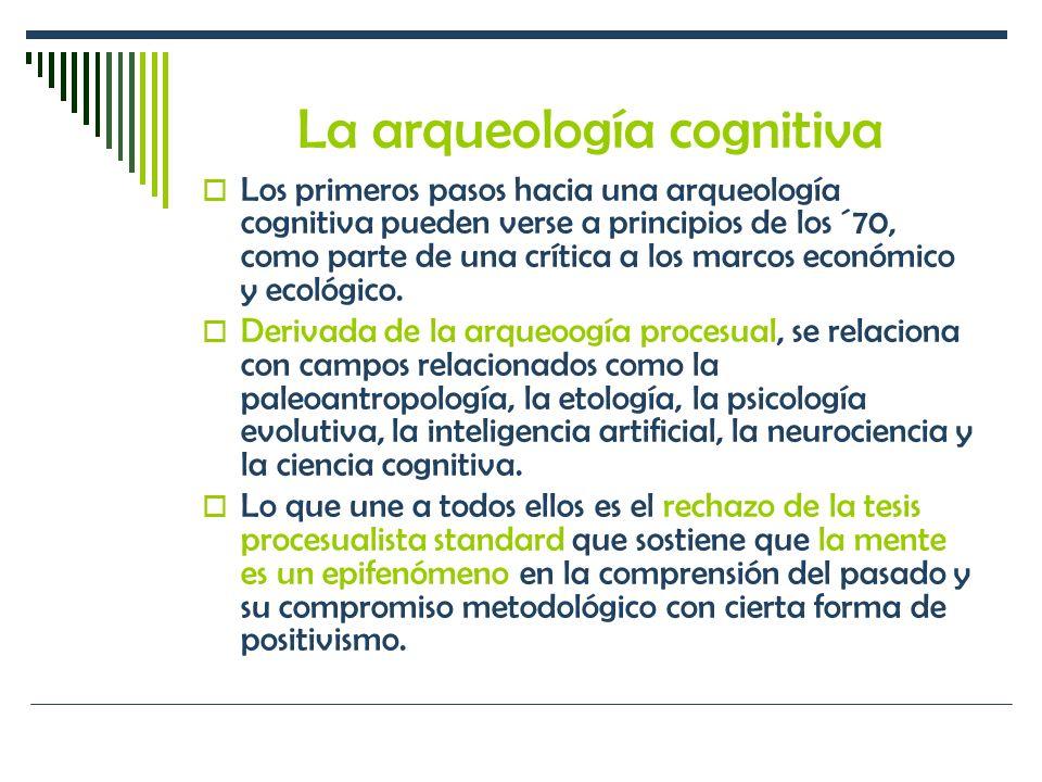 La arqueología cognitiva