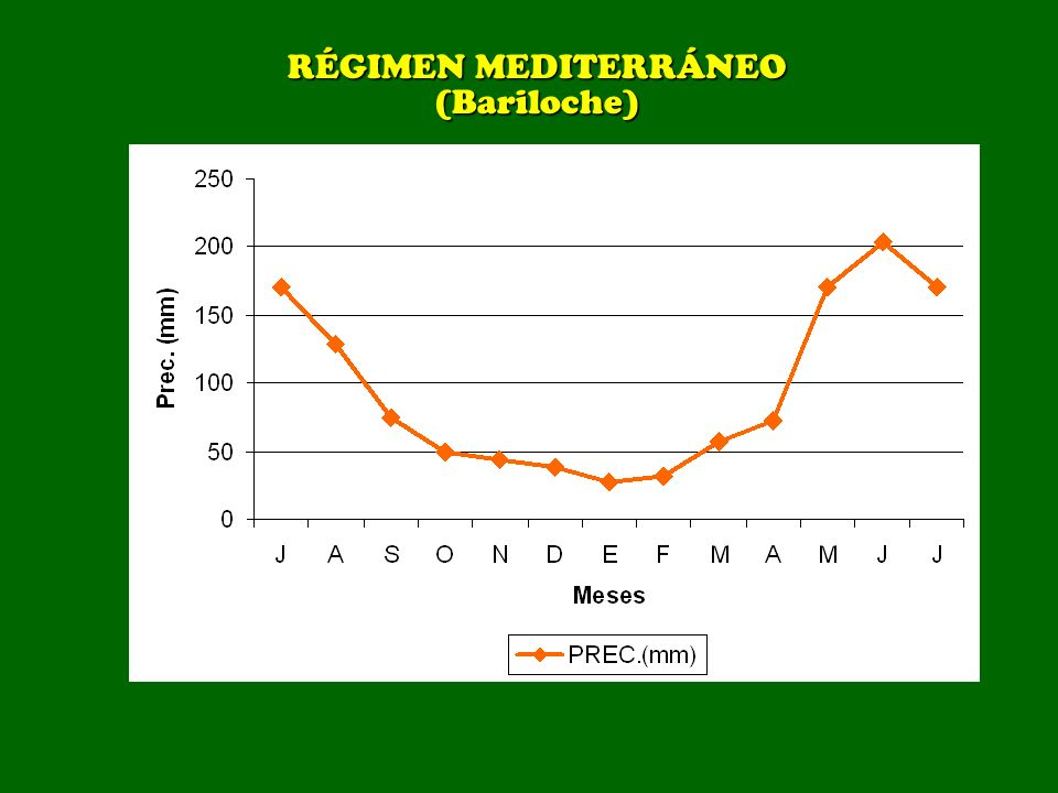 RÉGIMEN MEDITERRÁNEO (Bariloche)
