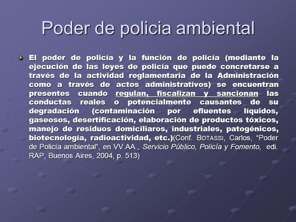 Poder de policia ambiental