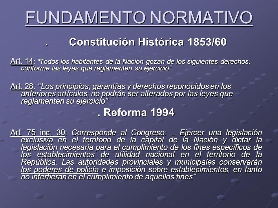. Constitución Histórica 1853/60