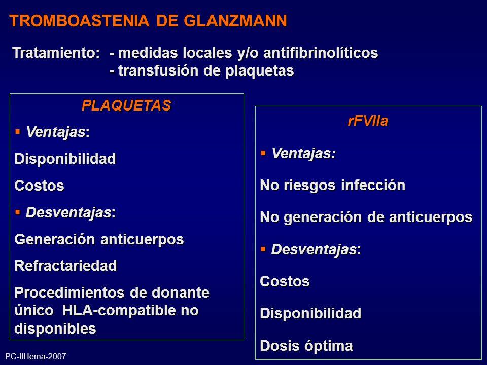 TROMBOASTENIA DE GLANZMANN
