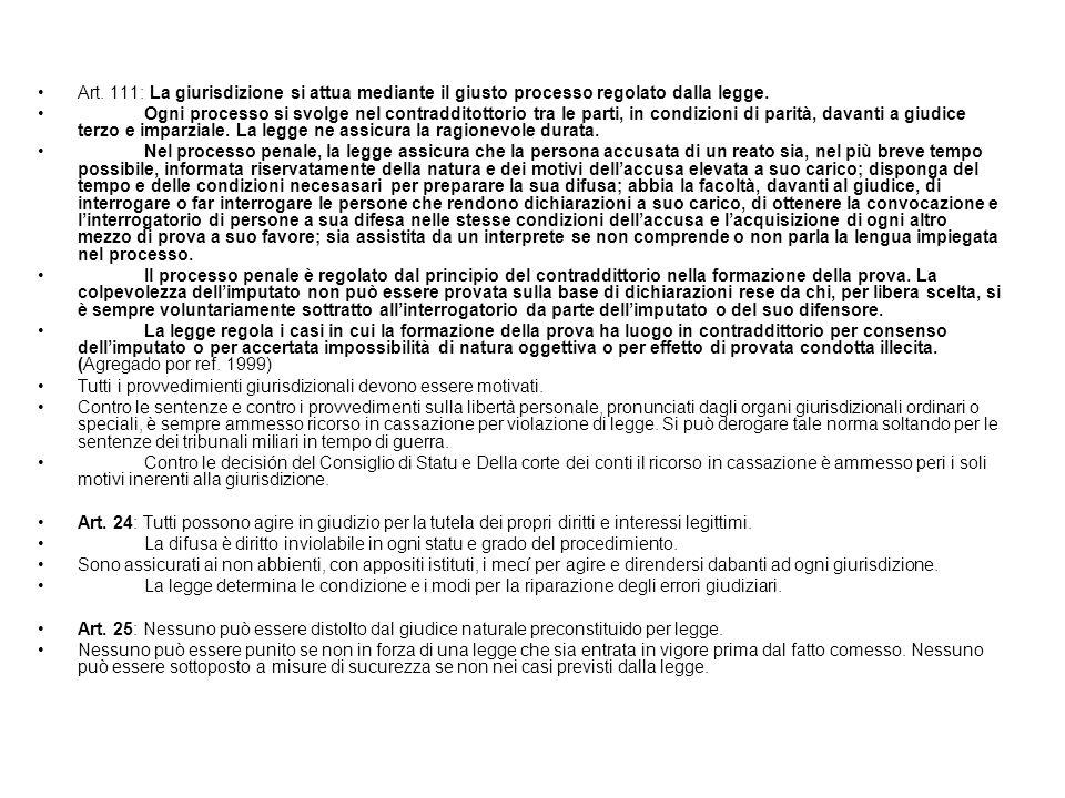 CONSTITUCION ITALIANA (ref. 1999)