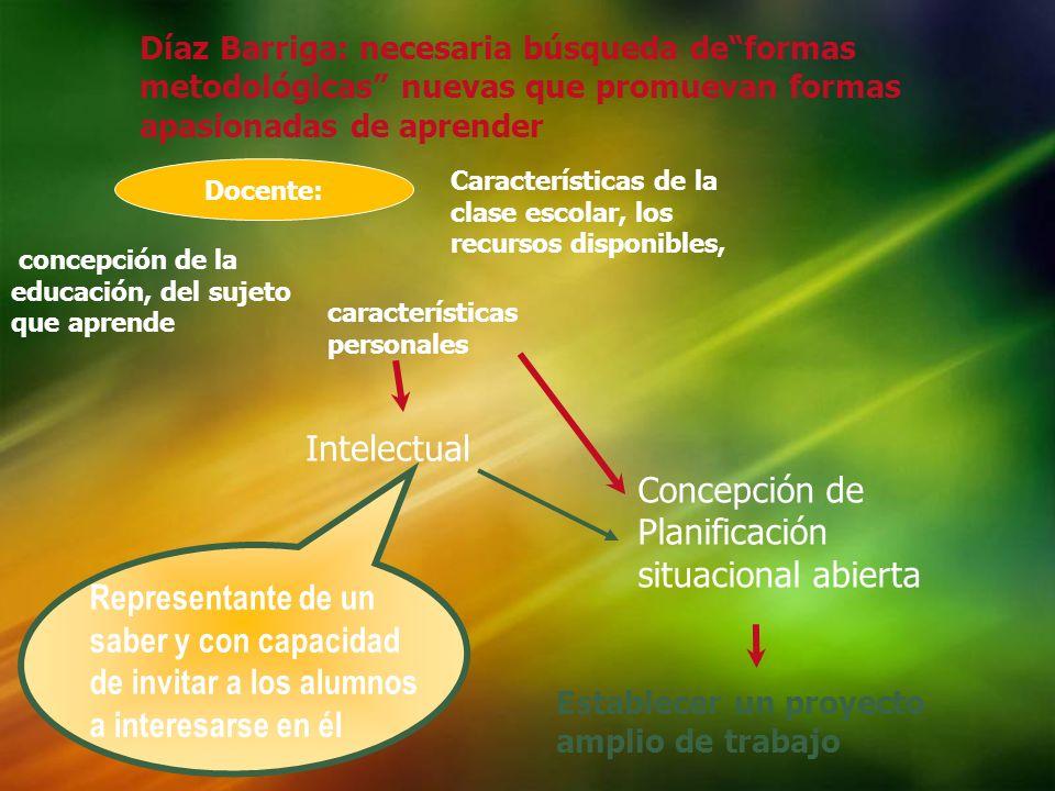 Concepción de Planificación situacional abierta