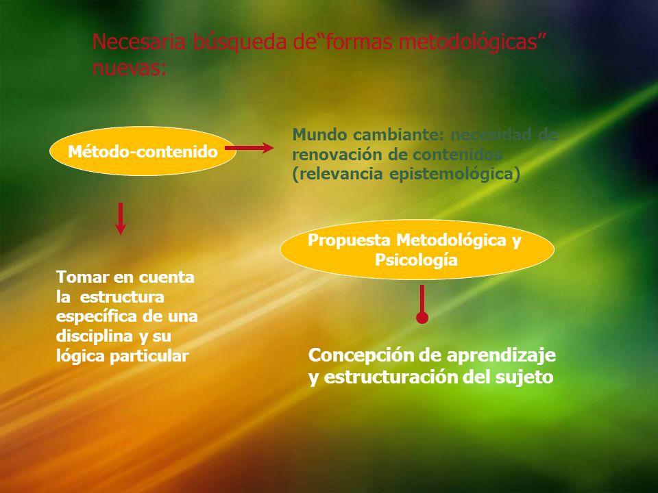 Propuesta Metodológica y