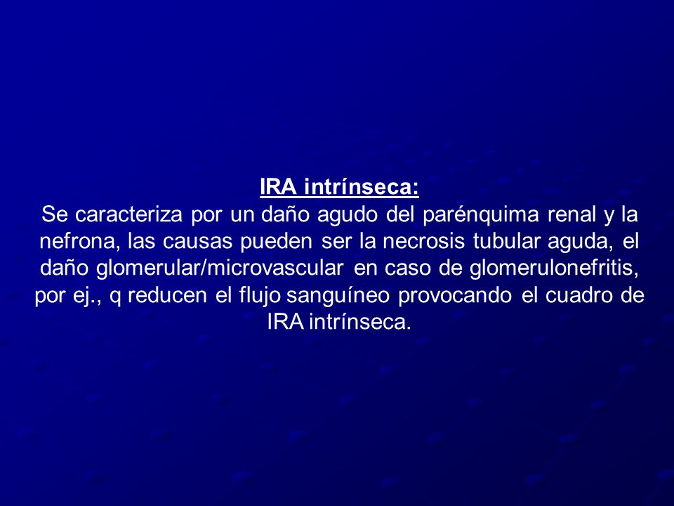 IRA intrínseca: