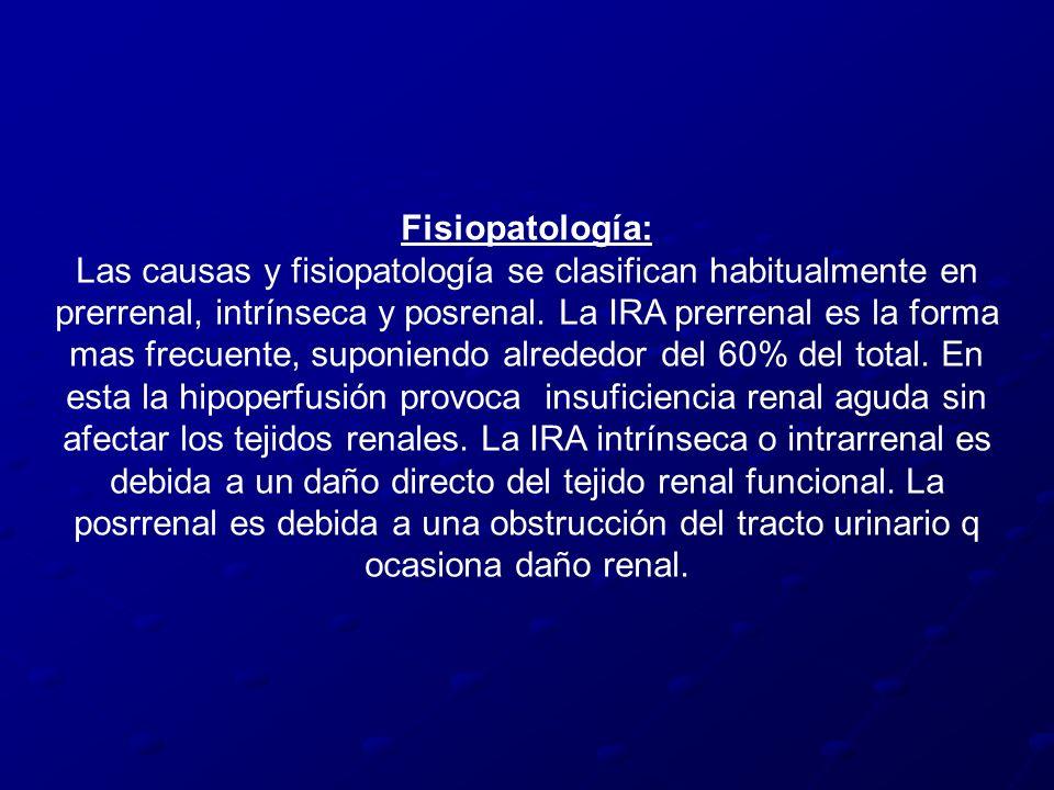 Fisiopatología:
