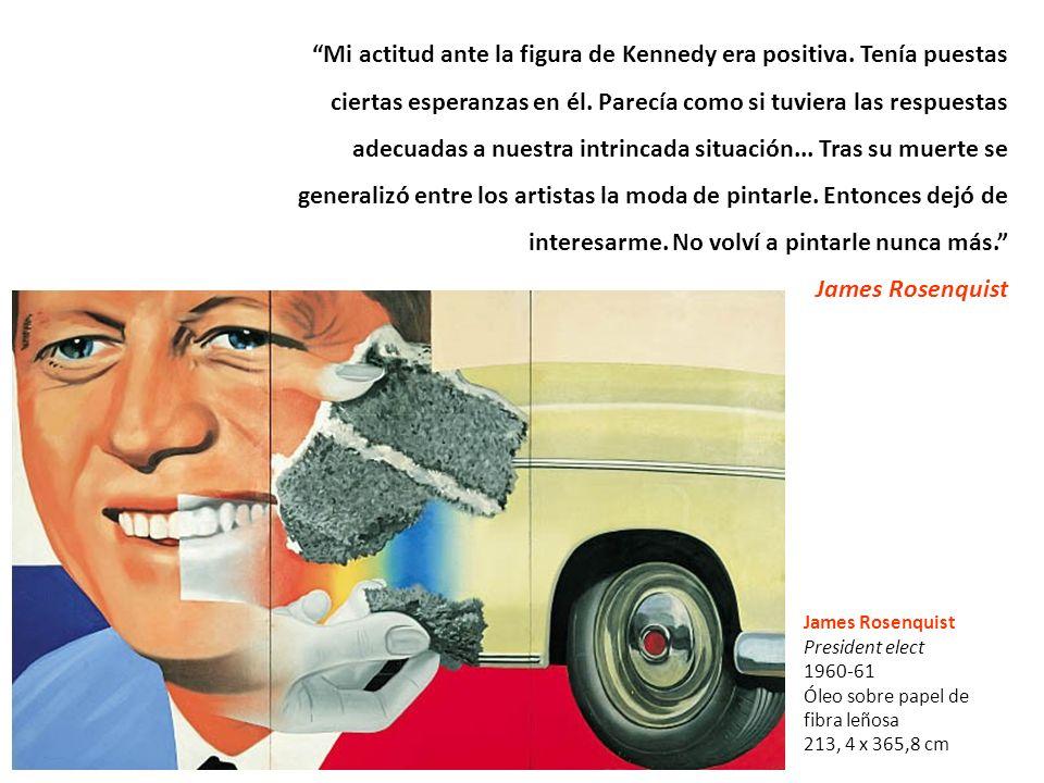 Mi actitud ante la figura de Kennedy era positiva